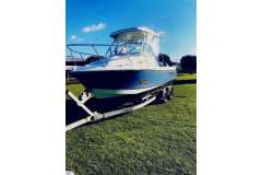 2008 Polar 7.1m Sportfisher Trailer boat