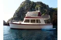 Warwick 36 Comfortable Coastal Cruiser for family, sport or liveaboard