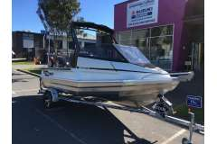 Stabicraft 1550 Fisher with Mercury 50hp Four Stroke