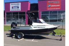 Stabicraft 1550 Fisher with Mercury 60hp Four Stroke