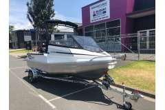 Stabicraft 1550 Fisher with Suzuki 60hp Four Stroke