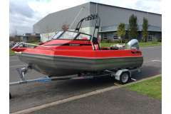 Stabicraft 1850 Fisher with Honda 100hp fourstroke