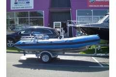 Wavebreak 4.5 Rigid Hull Jet Inflatable, 2014