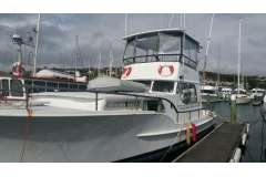 42ft Steel Great liveaboard launch