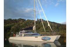 Very fast 13m GOP Frank Pelin designed Catamaran.  Extensive upgrades & many features.