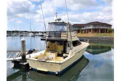 Great 46-ft custom-built sport fishing boat that was designed and built by a fisherman.
