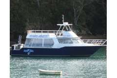 A great fast planing launch, perfect for day sightseeing, fishing or diving. In charter, business available.  Price plus GST if any.
