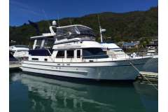 Ed Monk designed trawler style cruising launch