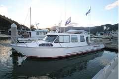 Seamaster 11.4M, Cat diesel, shaft drive
