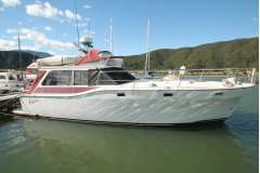 Vindex style Cruising Launch, Detroit 250hp Diesel, Shaft Drive. Cruise Approx 14 knots.