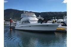 Riviera 48, Volvo shaft drive diesels