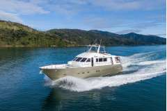 Luxury 21.9M surveyed Charter motor yacht, GRP hull and major refit approximately 2016