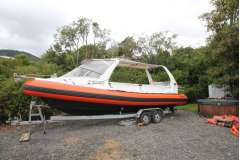 Naiad 8.24M Surveyed Launch on Trailer