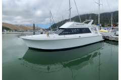 Vindex 12.5M Flybridge Launch, Perkins Shaft Drive