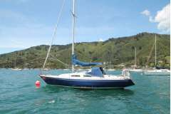 Ballard designed, Swedish built cruising yacht