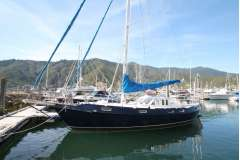 Ganley 14M twin helm Pilothouse Cutter