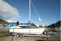 MacGregor 7.9 Power Sailer
