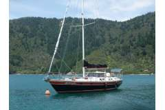 Bruce Roberts 13.1M Steel Cruising Cutter Rigged Yacht
