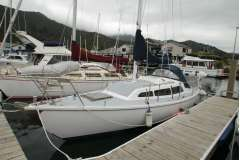 Alan Wright Nova 8.4M cruising yacht