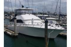 Well maintained Comfortable Sports Fisher with many upgrades.