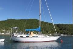 1990 Ganley Tara 39 steel hull sloop