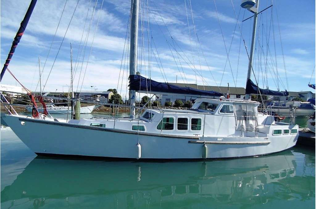 Motorsailer Ketch for sale in New Zealand on Marine Hub