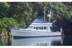 Sterling 36 extended GRP Hull