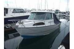 Fryan 760  Pursuit  trailer boat