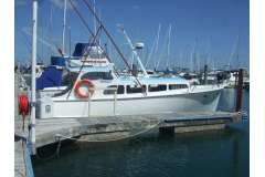 Allen Williams Classic Displacement  + Would sell 10 mtr Sulphur Point Marina berth.