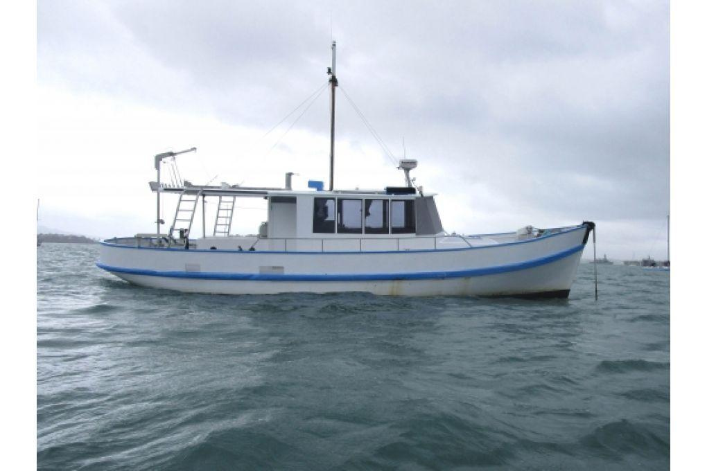 14m Converted Fishing Trawler
