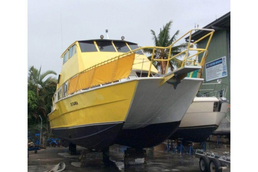 Dive Catamaran/Business - Fiji