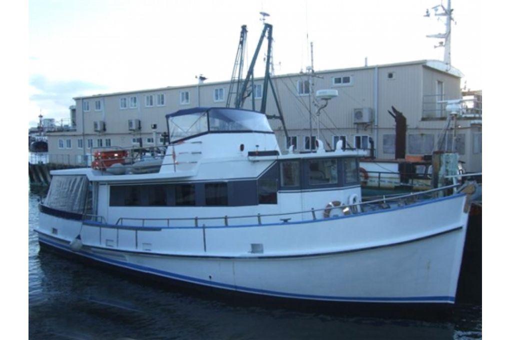 Saunders Converted Trawler